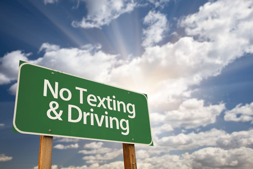driving while intoxicated and texting