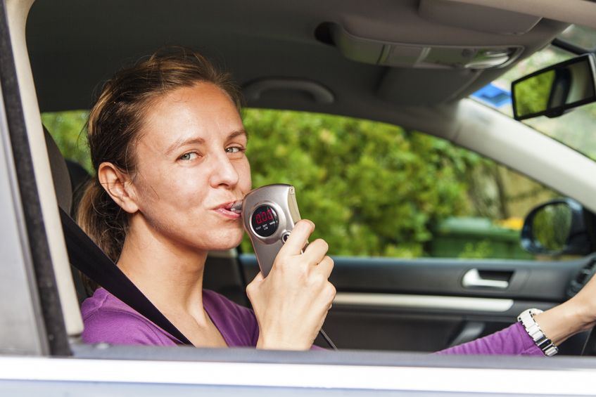 DWI breathalyzer test